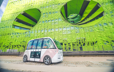 Adelaide Airport welcomes driverless shuttles