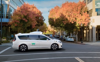 Growing driverless car fleet in the US