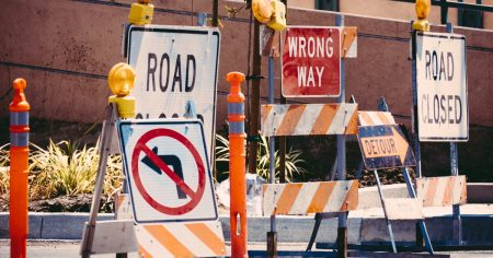 Road signs and the way we process information