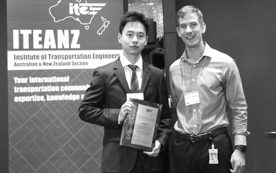 Eric Ye receives ITEANZ-GHD award