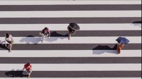 Pedestrian-friendly cities